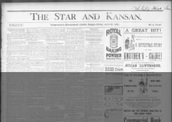 The Weekly Star and Kansan