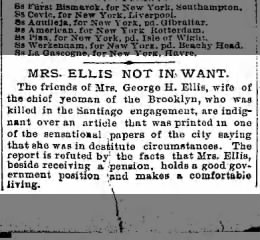 1898 JULY 16 SAT  PG 14 MRS ELLIS NOT IN WANT