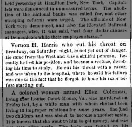 The Brooklyn Daily Eagle Brooklyn, New York 30 June 1879  Monday page 2