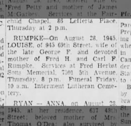 Brooklyn Daily Eagle Aug 29' 1945
