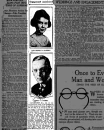 Georgiana Murphy marries 16 Jan 1921
