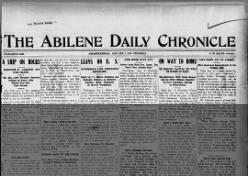 Abilene Daily Chronicle