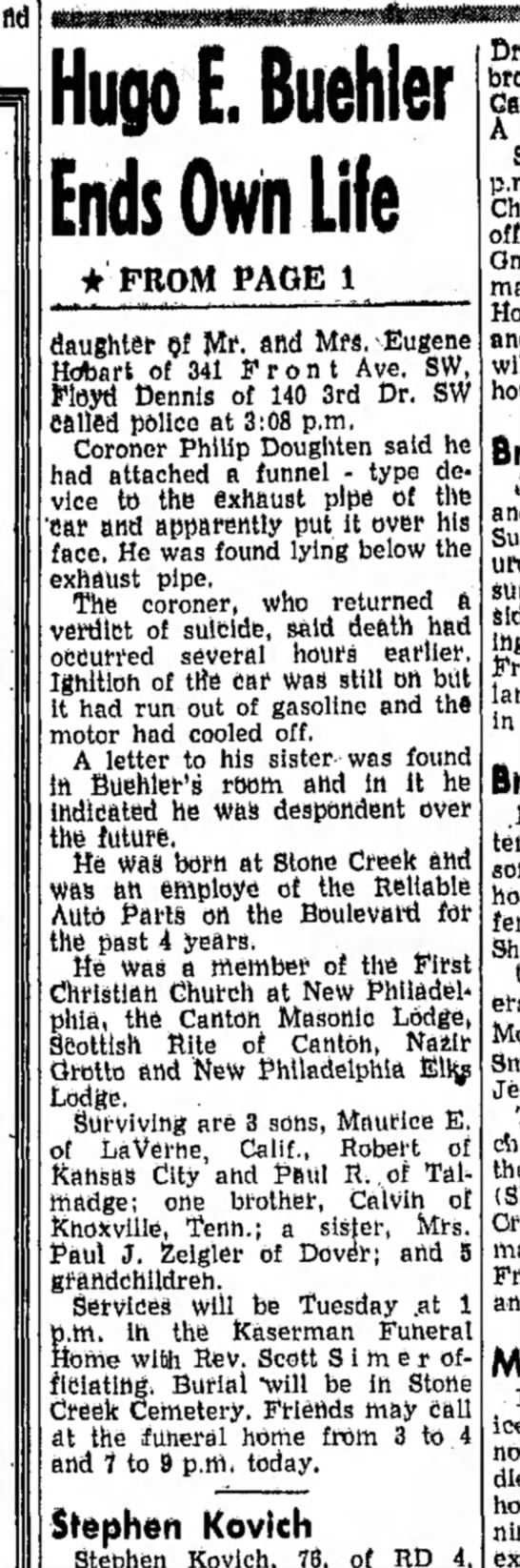 The  Daily Reporter (Dover, OH) April 25, 1960