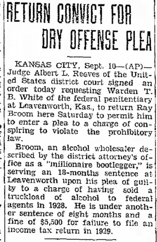 Jefferson City Post-Tribune, Jefferson City, MO 10 Sept 1931 pg 1