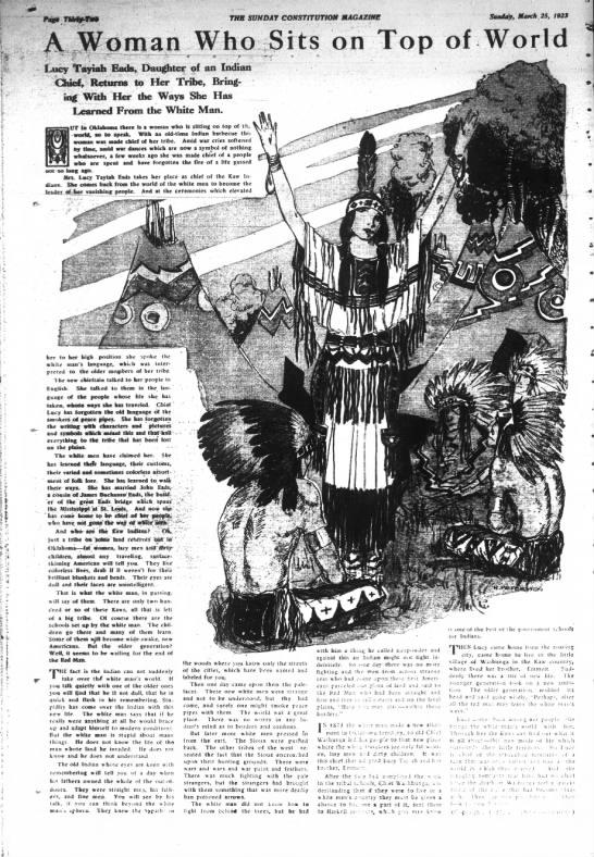Lucy Tahiah 3-25-1923