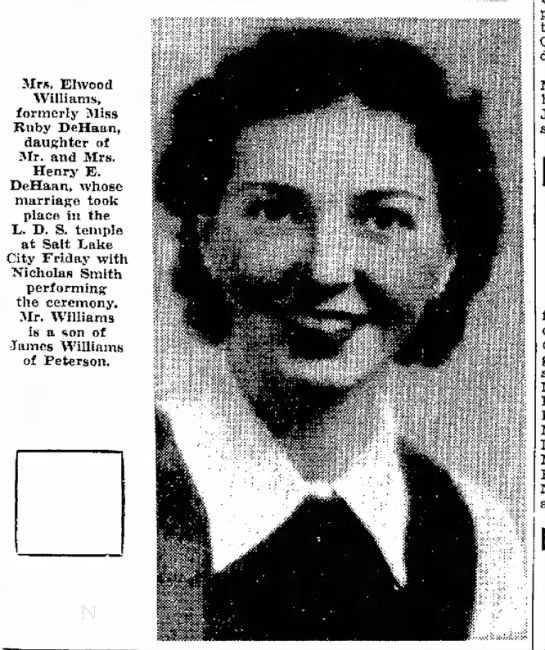 Photograph of Ruby DeHaan