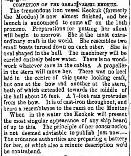 Burlington Weekly Hawk-Eye 8 Nov 1862