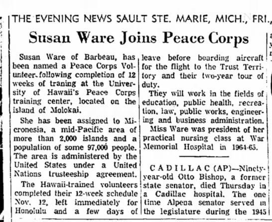 the evening news sault ste. marie, mi 18Nov1966_page7