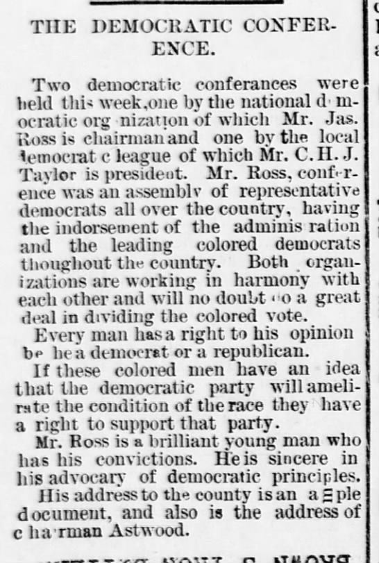 1893-08-26-WashingtonBee-p2-DemocraticConference