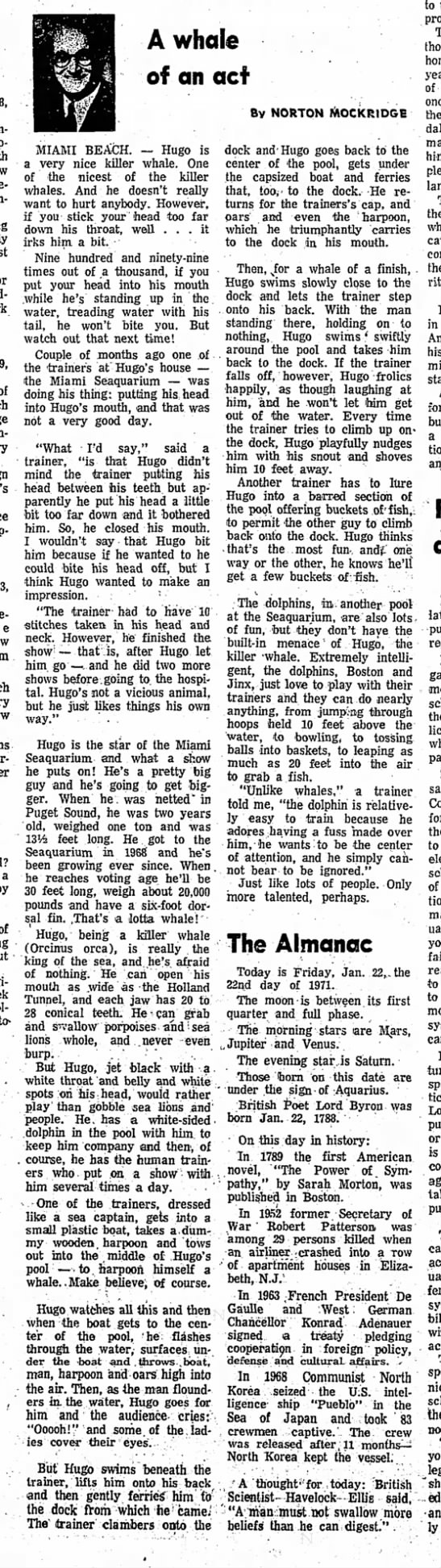 Redlands Daily Facts (Redlands, California) January 22, 1971