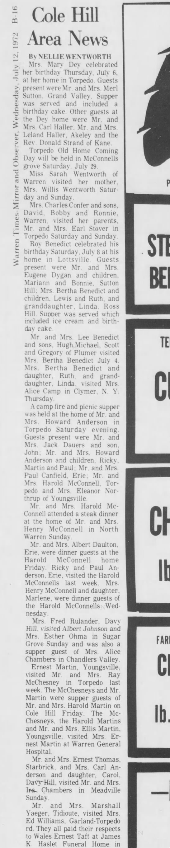 Warren-Times Mirror and Observer 12 Jul 1972 Wed