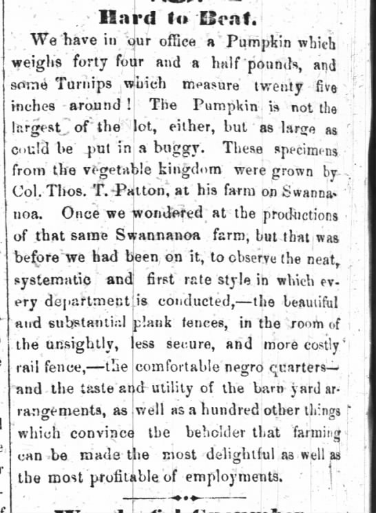 Thos. Patton- Asheville News- Oct 8, 1857