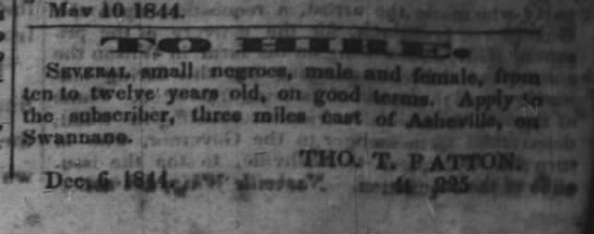 Asheville Messenger- January 31, 1845