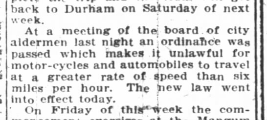 Raleigh News and Observer April 5, 1905