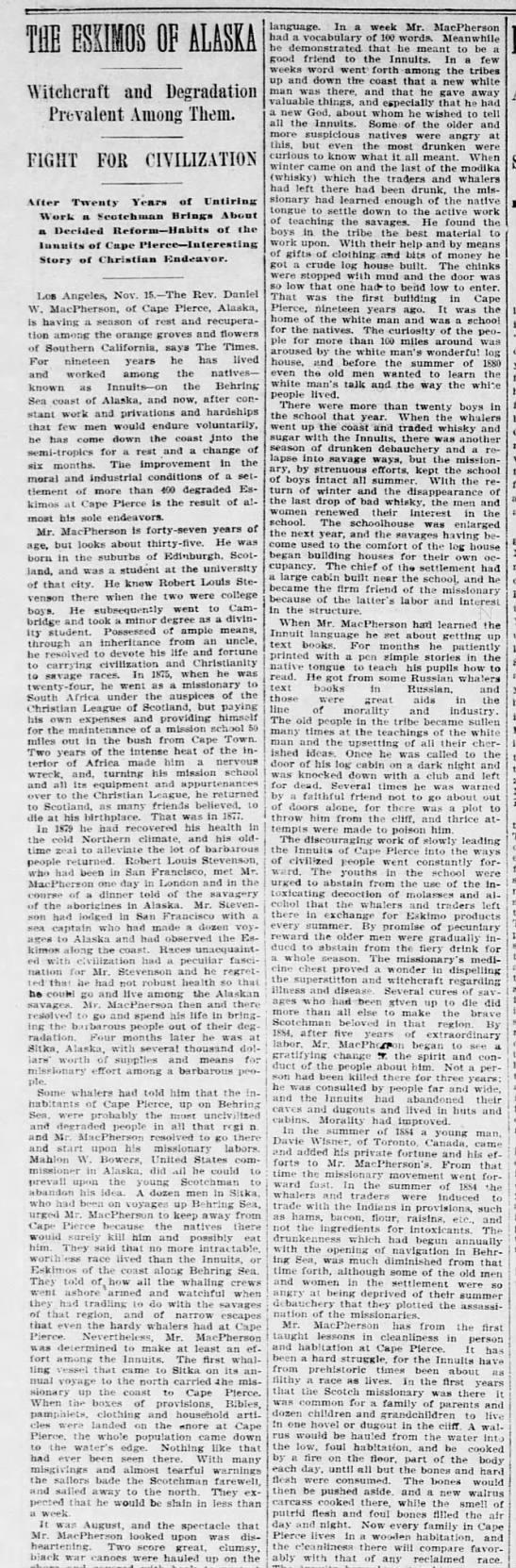 morning times, dc, 27 nov 1898