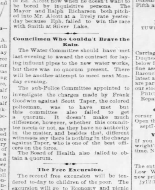 Taper Scott - one of the best officers on the force - Pgh Post 12 July 1879 p4
