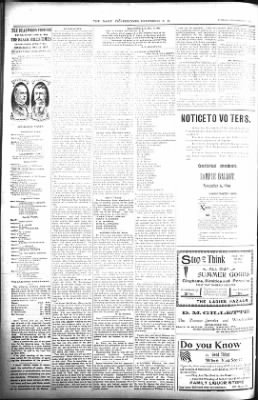 The Daily Deadwood Pioneer-Times from Deadwood, South Dakota on November 6, 1900 · Page 2