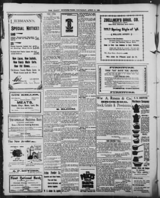 The Daily Deadwood Pioneer-Times from Deadwood, South Dakota on April 21, 1898 · Page 4