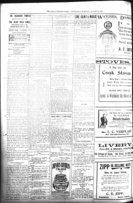 The Daily Deadwood Pioneer-Times from Deadwood, South Dakota on August 23, 1899 · Page 2