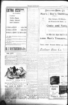 The Lead Daily Pioneer-Times from Lead, South Dakota on May 19, 1900 · Page 8