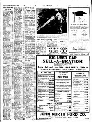 The Emporia Gazette from Emporia Kansas on May 21 1965 u0026middot; Page 10  sc 1 st  Newspapers.com & The Emporia Gazette from Emporia Kansas on May 21 1965 u0026middot ... markmcfarlin.com