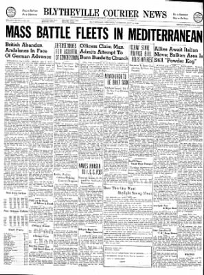 The Courier News from Blytheville, Arkansas on May 2, 1940 · Page 1