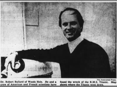Robert Ballard, man who found the Titanic