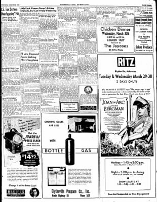 The Courier News from Blytheville, Arkansas on March 28, 1949 · Page 3