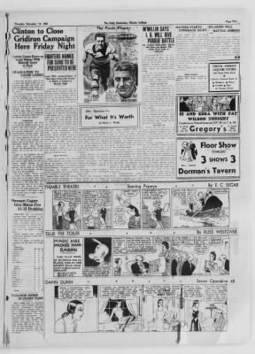 The Daily Clintonian from Clinton, Indiana on November 19, 1936 · Page 5