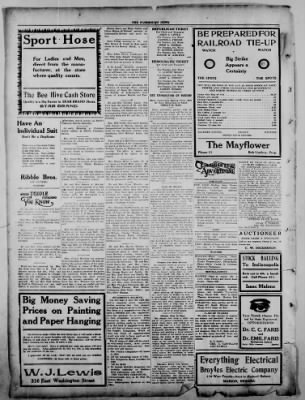 The Fairmount News from Fairmount, Indiana on October 27, 1921 · Page 8