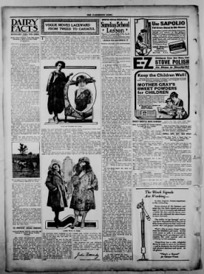 The Fairmount News from Fairmount, Indiana on November 24, 1921 · Page 6