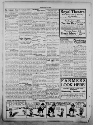 The Fairmount News from Fairmount, Indiana on January 23, 1922 · Page 2