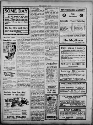 The Fairmount News from Fairmount, Indiana on April 27, 1922 · Page 6