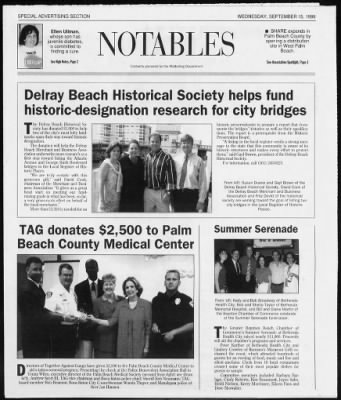 The Palm Beach Post from West Palm Beach, Florida on September 15, 1999 · Page 69