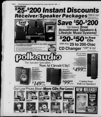 The Palm Beach Post from West Palm Beach, Florida on March 29, 1998 · Page 383