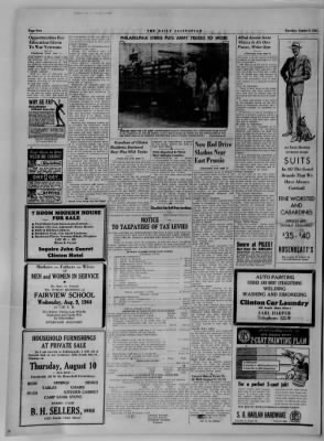 The Daily Clintonian from Clinton, Indiana on August 8, 1944 · Page 2