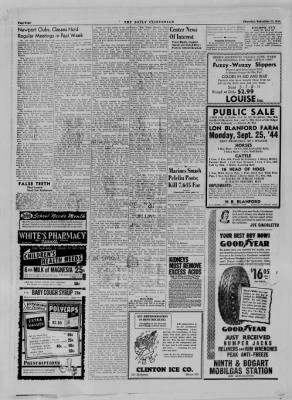 The Daily Clintonian from Clinton, Indiana on September 21, 1944 · Page 4