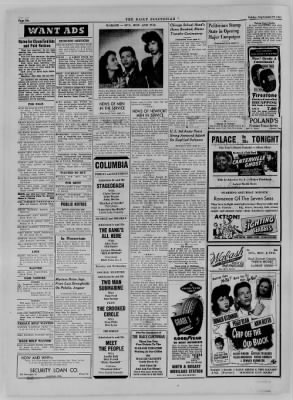 The Daily Clintonian from Clinton, Indiana on September 22, 1944 · Page 6