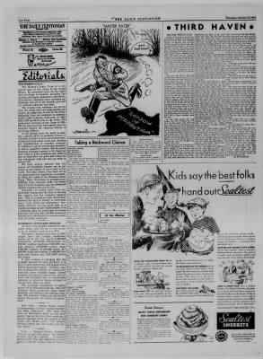 The Daily Clintonian from Clinton, Indiana on October 26, 1944 · Page 4