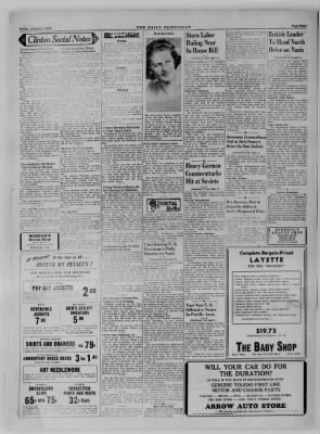 The Daily Clintonian from Clinton, Indiana on January 5, 1945 · Page 4