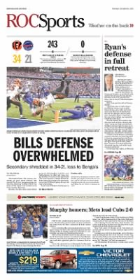 Democrat and Chronicle from Rochester, New York on October 19, 2015 · Page D1