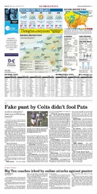 Democrat and Chronicle from Rochester, New York on October 21, 2015 · Page D8