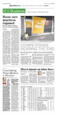 Democrat and Chronicle from Rochester, New York on October 22, 2015 · Page A9
