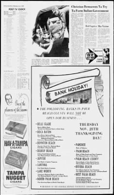 The Palm Beach Post from West Palm Beach, Florida on November 27, 1968 · Page 38