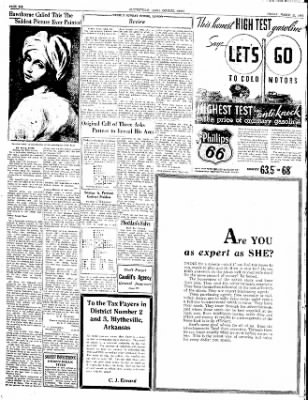 The Courier News from Blytheville, Arkansas on March 23, 1934 · Page 6