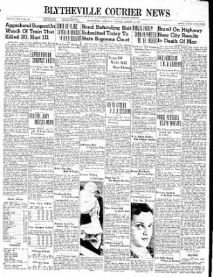 The Courier News from Blytheville, Arkansas on August 14, 1939 · Page 1