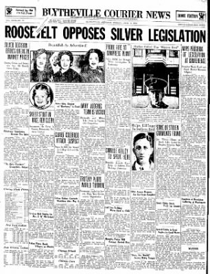 The Courier News from Blytheville, Arkansas on April 16, 1934 · Page 1