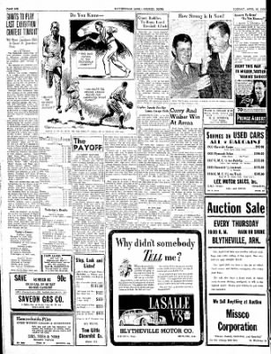 The Courier News from Blytheville, Arkansas on April 26, 1938 · Page 6