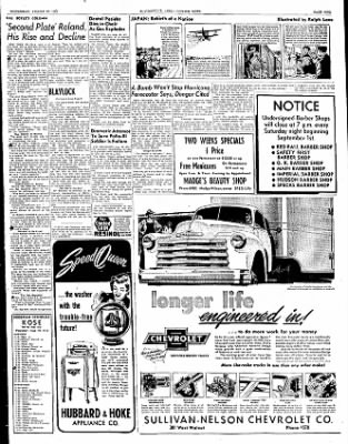 The Courier News from Blytheville, Arkansas on August 29, 1951 · Page 6
