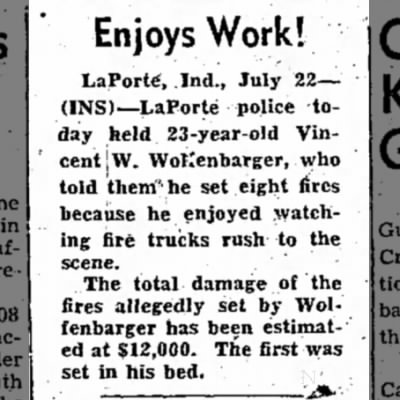 Tipton Tribune 22 July 1952 Wolfenbarger